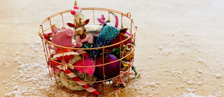 Weihnachtstraditionen Christbaumschmuck Kinder mein Liebchen