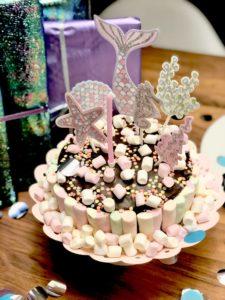 Geburtstagskuchen Kinder Meerjungfrau mein Liebchen
